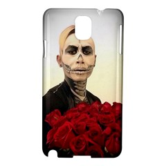 Halloween Skull Tux And Roses  Samsung Galaxy Note 3 N9005 Hardshell Case
