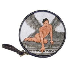 Angel And The Piano Drawing Classic 20 Cd Wallets