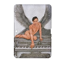 Angel And The Piano Drawing Samsung Galaxy Tab 2 (10 1 ) P5100 Hardshell Case