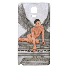 Angel And The Piano Drawing Galaxy Note 4 Back Case