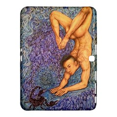 Zodiac Signs Scorpio Drawing Samsung Galaxy Tab 4 (10 1 ) Hardshell Case