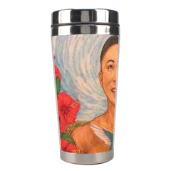 Spring Amazed By The Hummingbirds Drawing Stainless Steel Travel Tumblers