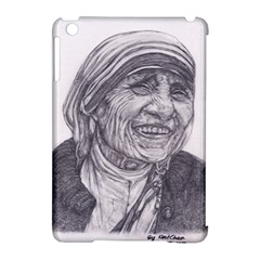 Mother Theresa  Pencil Drawing Apple Ipad Mini Hardshell Case (compatible With Smart Cover)