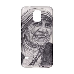 Mother Theresa  Pencil Drawing Samsung Galaxy S5 Hardshell Case