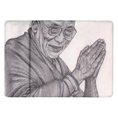 Dalai Lama Tenzin Gaytso Pencil Drawing Samsung Galaxy Tab 10 1  P7500 Flip Case
