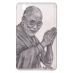 Dalai Lama Tenzin Gaytso Pencil Drawing Samsung Galaxy Tab Pro 8 4 Hardshell Case