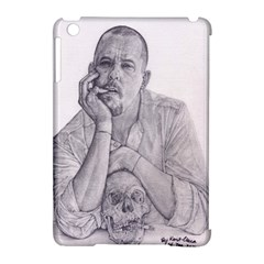 Alexander Mcqueen Pencil Drawing Apple Ipad Mini Hardshell Case (compatible With Smart Cover)