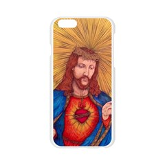 Sacred Heart Of Jesus Christ Drawing Apple Seamless iPhone 6/6S Case (Transparent)