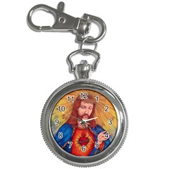 Sacred Heart Of Jesus Christ Drawing Key Chain Watches