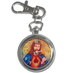 Sacred Heart Of Jesus Christ Drawing Key Chain Watches Front
