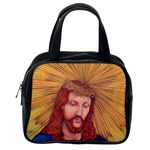 Sacred Heart Of Jesus Christ Drawing Classic Handbags (2 Sides) Back