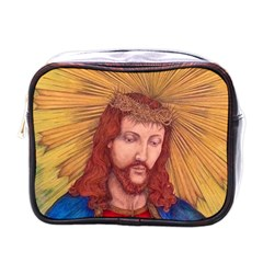 Sacred Heart Of Jesus Christ Drawing Mini Toiletries Bags