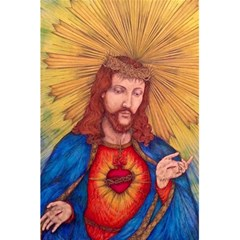 Sacred Heart Of Jesus Christ Drawing 5 5  X 8 5  Notebooks