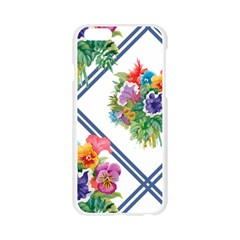 water flower Apple Seamless iPhone 6/6S Case (Transparent)