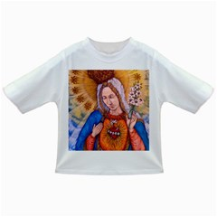 Immaculate Heart Of Virgin Mary Drawing Infant/toddler T Shirts
