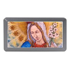 Immaculate Heart Of Virgin Mary Drawing Memory Card Reader (mini)