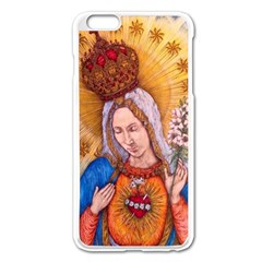 Immaculate Heart Of Virgin Mary Drawing Apple Iphone 6 Plus/6s Plus Enamel White Case