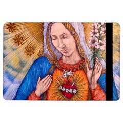 Immaculate Heart Of Virgin Mary Drawing Ipad Air 2 Flip