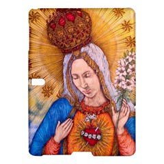 Immaculate Heart Of Virgin Mary Drawing Samsung Galaxy Tab S (10 5 ) Hardshell Case