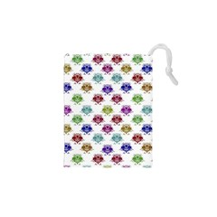 Fantasy Angry Birds Drawings Pattern Drawstring Pouches (xs)