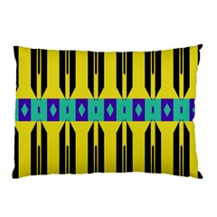 Rhombus And Other Shapes Pattern pillow Case