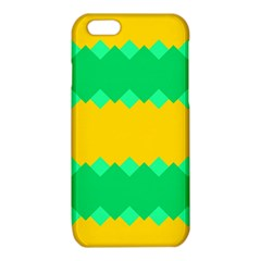 Green rhombus chains 			iPhone 6/6S TPU Case