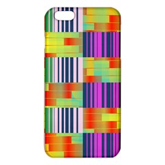 Vertical and horizontal stripes 			iPhone 6 Plus/6S Plus TPU Case