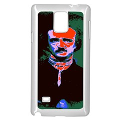 Edgar Allan Poe Pop Art  Samsung Galaxy Note 4 Case (white)