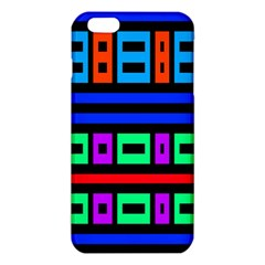 Rectangles and stripes iPhone 6 Plus/6S Plus TPU Case