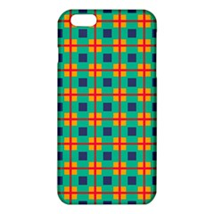 Squares in retro colors pattern iPhone 6 Plus/6S Plus TPU Case