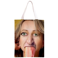 5000 Crop R The Mona Bacon Classic Light Tote Bag