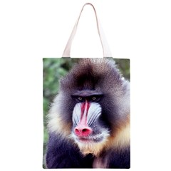 5000x5000 Mandrill Centred Classic Light Tote Bag