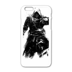 Assassins Creed Black Flag Tshirt Apple Iphone 6/6s White Enamel Case