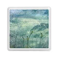 Nature Photo Collage Memory Card Reader (square)