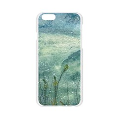 Nature Photo Collage Apple Seamless iPhone 6/6S Case (Transparent)