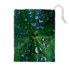 Morning Dew Drawstring Pouches (Extra Large)