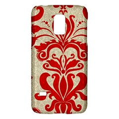 Ruby Red Swirls Galaxy S5 Mini