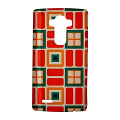 Squares And Rectangles In Retro Colors 			lg G4 Hardshell Case
