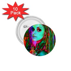 Alice In Wonderland 1 75  Buttons (10 Pack)