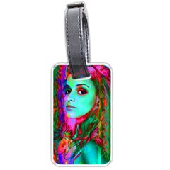 Alice In Wonderland Luggage Tags (one Side)