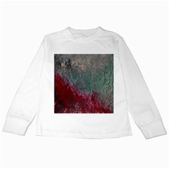 Metallic Abstract 1 Kids Long Sleeve T Shirts