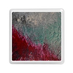 Metallic Abstract 1 Memory Card Reader (square)