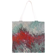 Metallic Abstract 2 Grocery Light Tote Bag