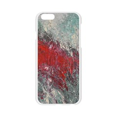 Metallic Abstract 2 Apple Seamless iPhone 6/6S Case (Transparent)