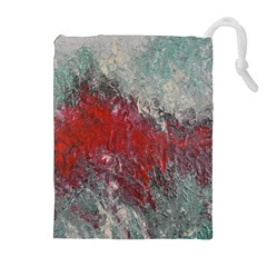 Metallic Abstract 2 Drawstring Pouches (Extra Large)