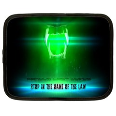 Stop In The Name Of The Law Netbook Case (large)