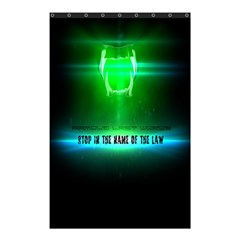 Stop In The Name Of The Law Shower Curtain 48  X 72  (small)