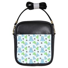 A Is For Alligator Blue Girls Sling Bags