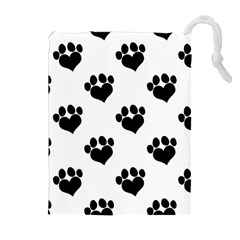 Puppy Love Drawstring Pouch (xl)