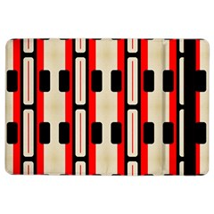 Rectangles And Stripes Pattern apple Ipad Air 2 Flip Case